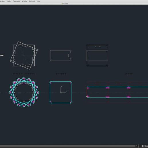 70-Cad-02-02-1680.jpg Download STL file Stage Decor Collection 01 (Modular 9 Pieces) • 3D printer model, akerStudio