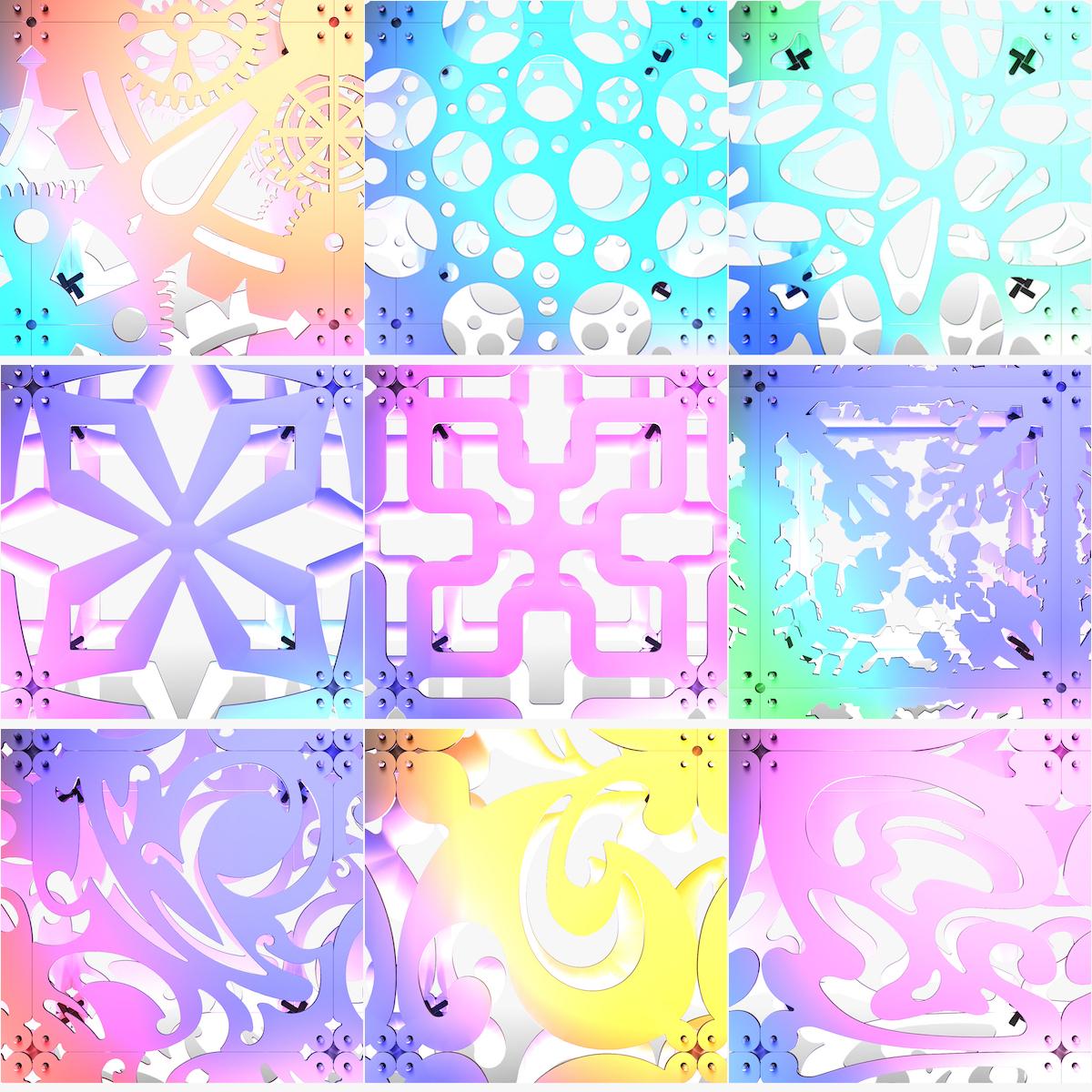 70-00-StageDecorCollection_01_a.jpg Télécharger fichier STL Collection de décors de scène 01 (Modulaire 9 pièces) • Design pour imprimante 3D, akerStudio