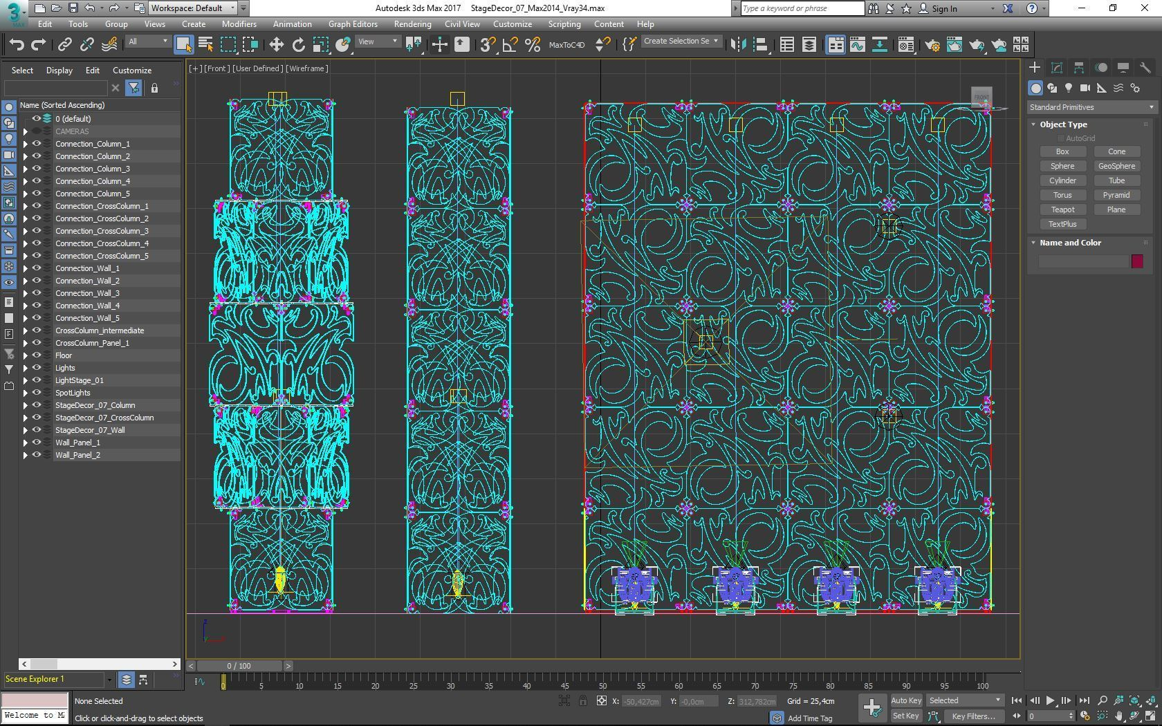 70-Max-07-02-1680.JPG Download STL file Stage Decor Collection 01 (Modular 9 Pieces) • 3D printer model, akerStudio