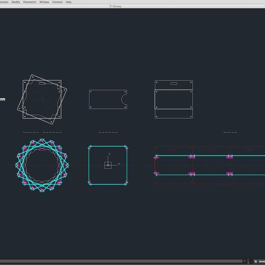 70-Cad-06-02-1680.jpg Download STL file Stage Decor Collection 01 (Modular 9 Pieces) • 3D printer model, akerStudio