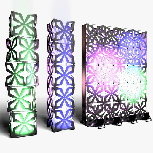 70-04-01-1200x1200.jpg Download STL file Stage Decor Collection 01 (Modular 9 Pieces) • 3D printer model, akerStudio
