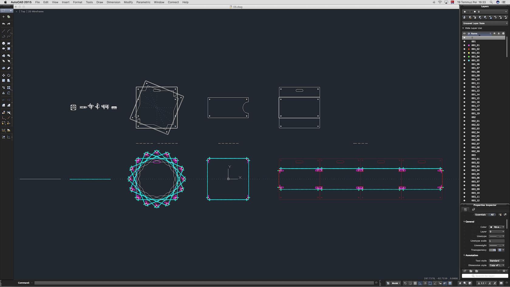 70-Cad-05-02-1680.jpg Download STL file Stage Decor Collection 01 (Modular 9 Pieces) • 3D printer model, akerStudio