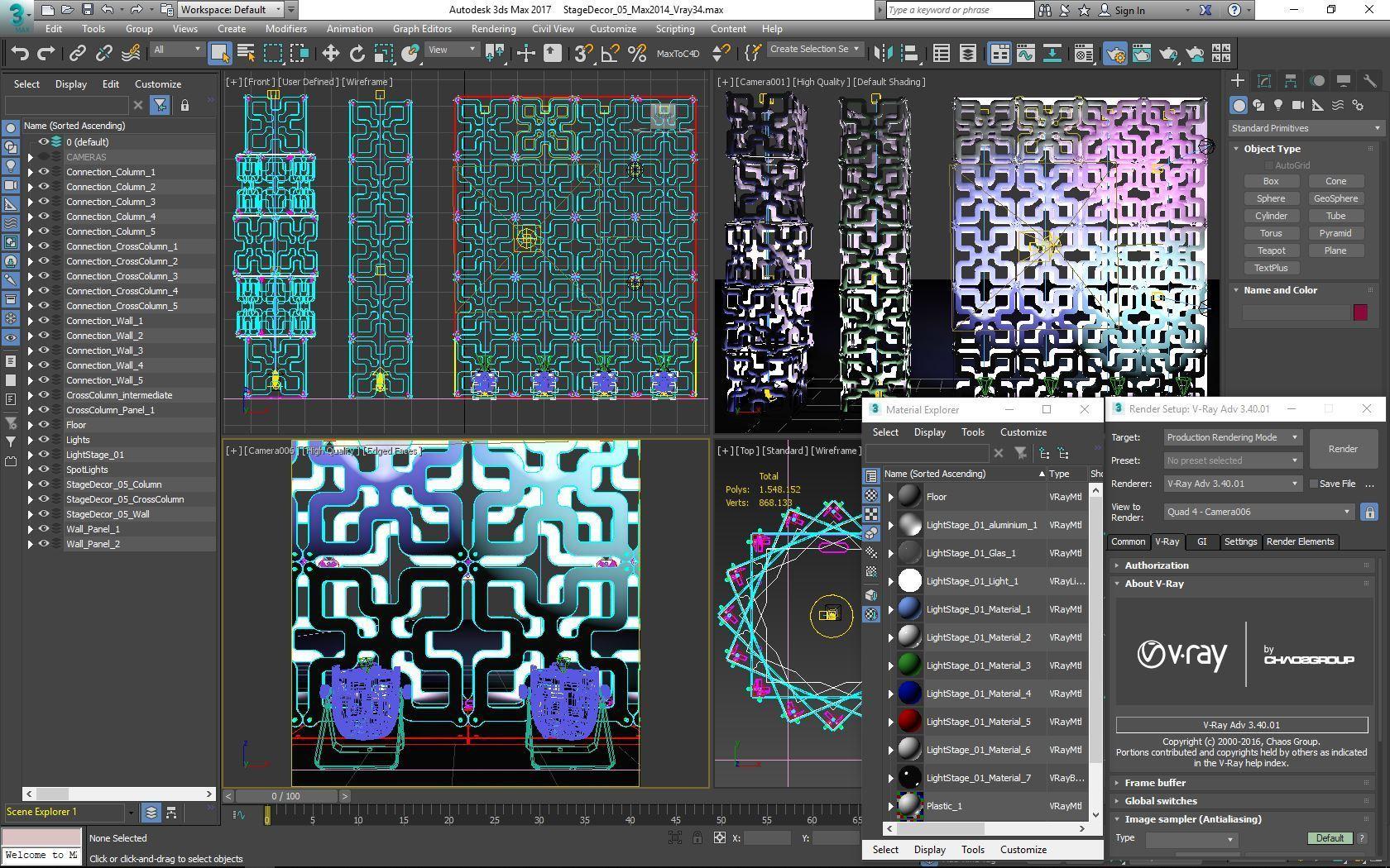 70-Max-05-01-1680.JPG Télécharger fichier STL Collection de décors de scène 01 (Modulaire 9 pièces) • Design pour imprimante 3D, akerStudio