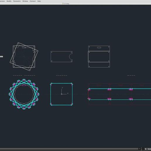 70-Cad-07-02-1680.jpg Download STL file Stage Decor Collection 01 (Modular 9 Pieces) • 3D printer model, akerStudio