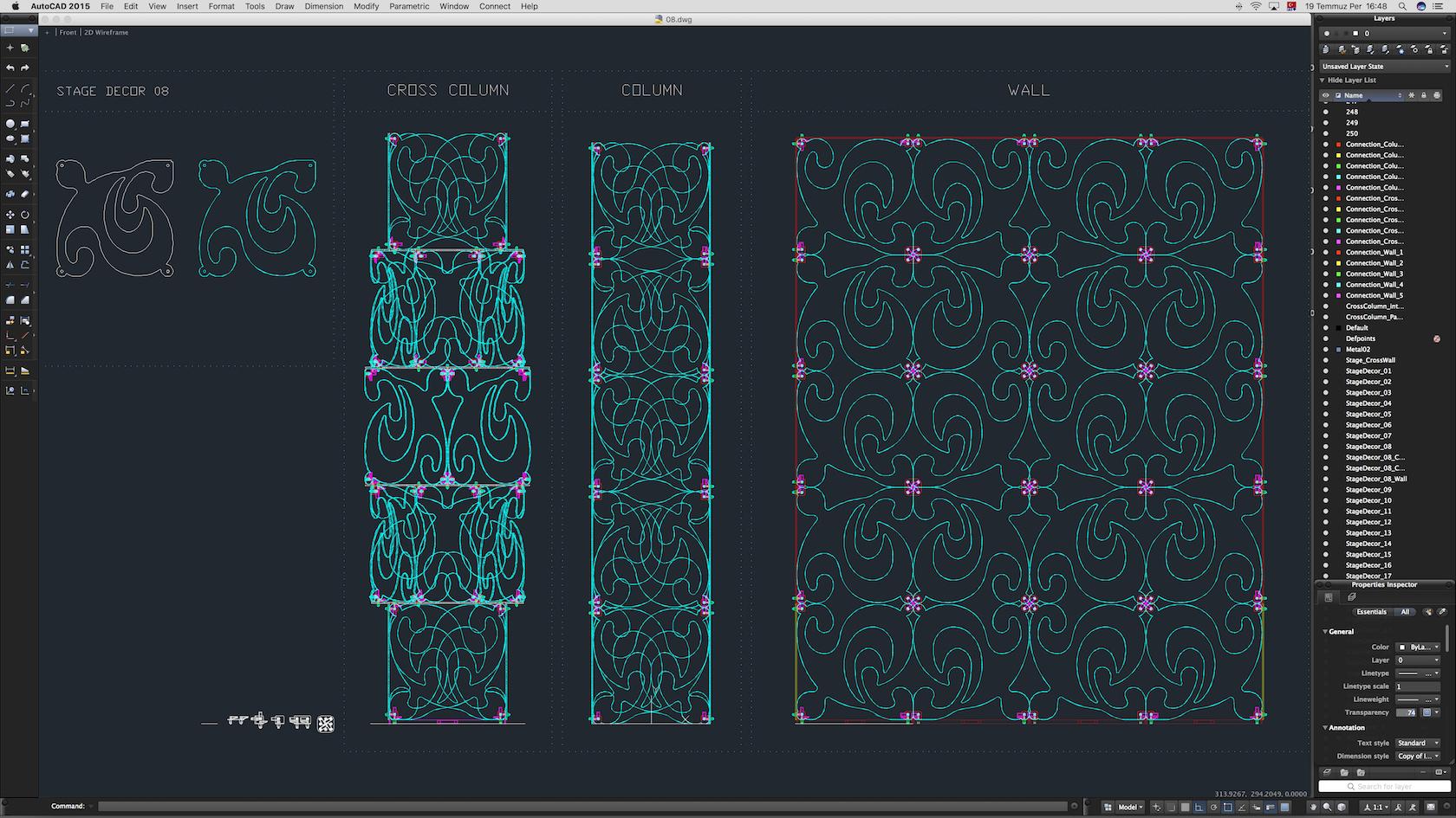 70-Cad-08-01-1680.jpg Download STL file Stage Decor Collection 01 (Modular 9 Pieces) • 3D printer model, akerStudio