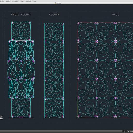 70-Cad-08-01-1680.jpg Télécharger fichier STL Collection de décors de scène 01 (Modulaire 9 pièces) • Design pour imprimante 3D, akerStudio