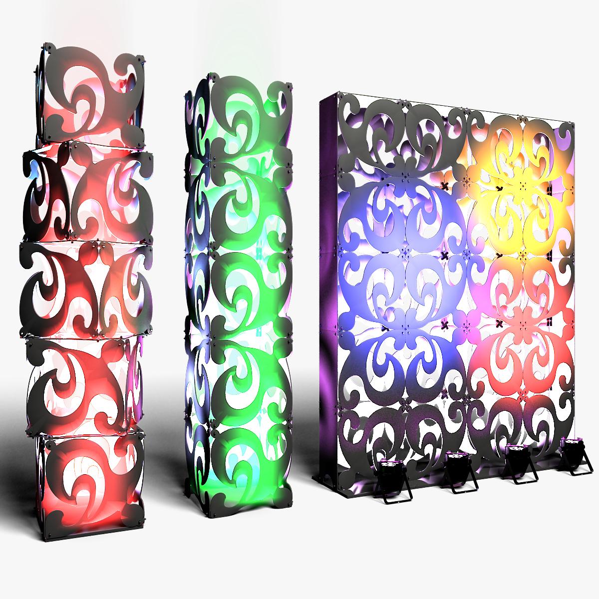 70-08-01-1200x1200.jpg Download STL file Stage Decor Collection 01 (Modular 9 Pieces) • 3D printer model, akerStudio