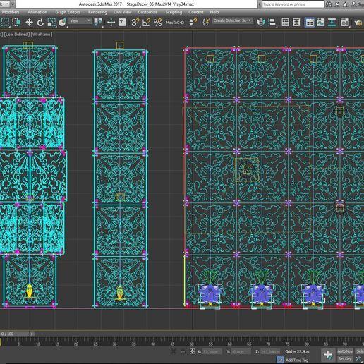 70-Max-06-02-1680.JPG Download STL file Stage Decor Collection 01 (Modular 9 Pieces) • 3D printer model, akerStudio