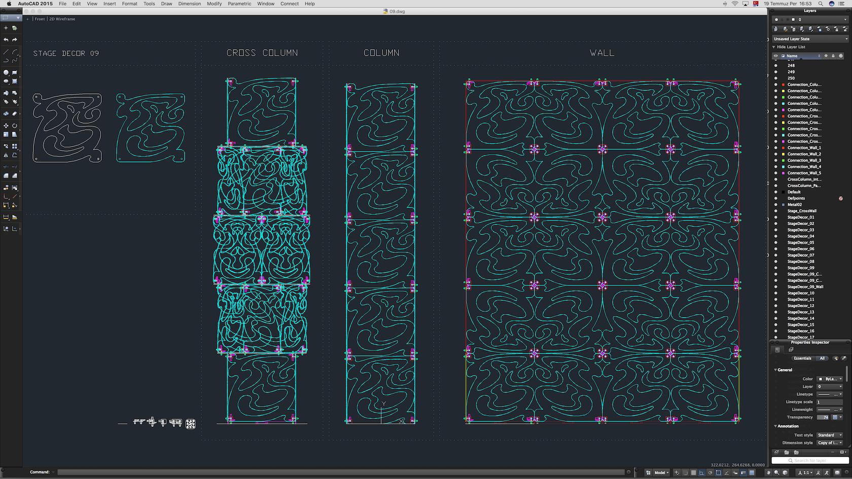 70-Cad-09-01-1680.jpg Download STL file Stage Decor Collection 01 (Modular 9 Pieces) • 3D printer model, akerStudio