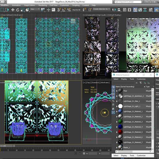 70-Max-06-01-1680.JPG Télécharger fichier STL Collection de décors de scène 01 (Modulaire 9 pièces) • Design pour imprimante 3D, akerStudio