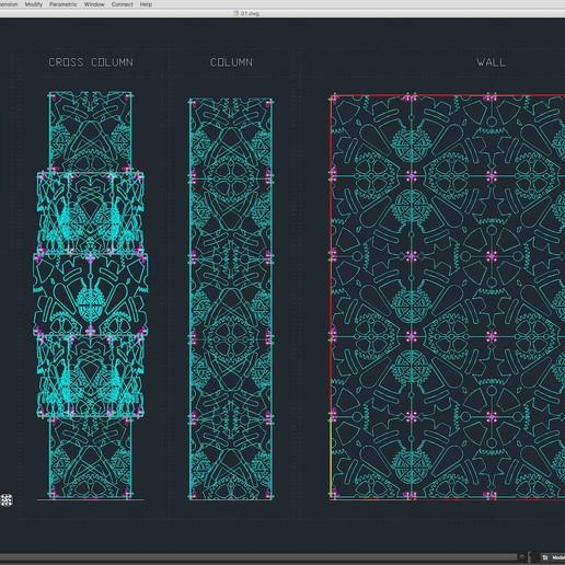 70-Cad-01-01-1680.jpg Download STL file Stage Decor Collection 01 (Modular 9 Pieces) • 3D printer model, akerStudio