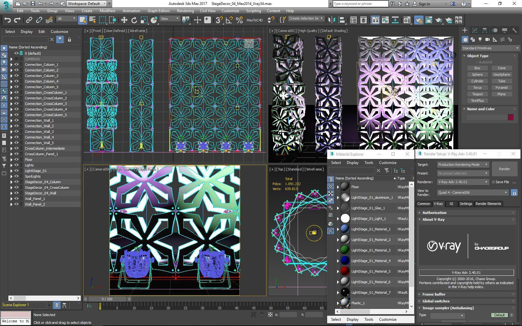 70-Max-04-01-1680.JPG Download STL file Stage Decor Collection 01 (Modular 9 Pieces) • 3D printer model, akerStudio
