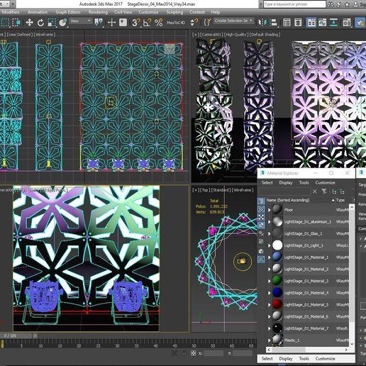 70-Max-04-01-1680.JPG Télécharger fichier STL Collection de décors de scène 01 (Modulaire 9 pièces) • Design pour imprimante 3D, akerStudio