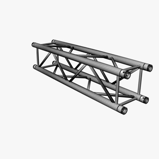 30-21_1200x1200_06.jpg Download free STL file Square Truss Straight Segment 21 • 3D printable object, akerStudio