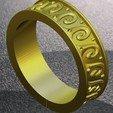 Download free 3D printing files ring, Boyka97