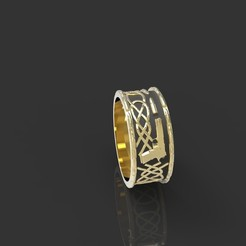 Imprimir en 3D anillo celta, Boyka97