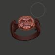 Descargar archivo 3D Ring skull , Boyka97