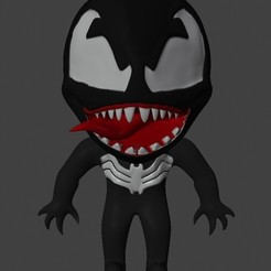 Download 3D print files Chibi Venom, willieerasmus1996
