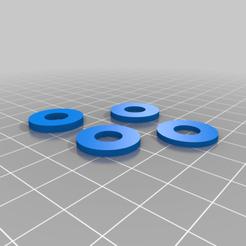 Impresiones 3D gratis Espaciadores M8 para la extrusora de Greg Wade, fatmann66