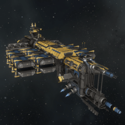Rorqual (1).png Download OBJ file Capital Industrial Ships Rorqual • Template to 3D print, DesignerWinterson
