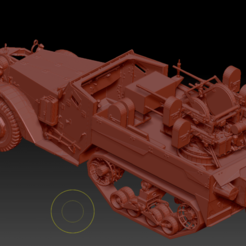 Preview1 (1).png Download OBJ file Multiple Gun Motor Carriage M16 • 3D printing object, DesignerWinterson