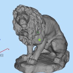 Télécharger fichier 3D Lion, 449324844