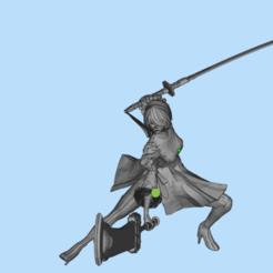 Download 3D printer model 2B little sister, 449324844