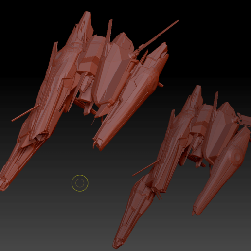 Command Destroyers (4).png Download OBJ file Draugur Kikimora  Command Destroyers • 3D print model, DesignerWinterson