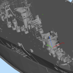 aircraft carrier1 (11).png Download OBJ file British aircraft carrier • 3D printing object, 449324844