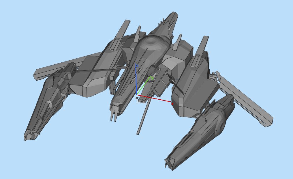 Command Destroyers (2).png Download OBJ file Draugur Kikimora  Command Destroyers • 3D print model, DesignerWinterson