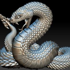 snake1 (1).png Download OBJ file Python • 3D printing model, DesignerWinterson