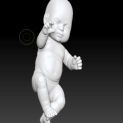 BABY (2).png Download OBJ file little baby 3D print model • 3D printer model, DesignerWinterson