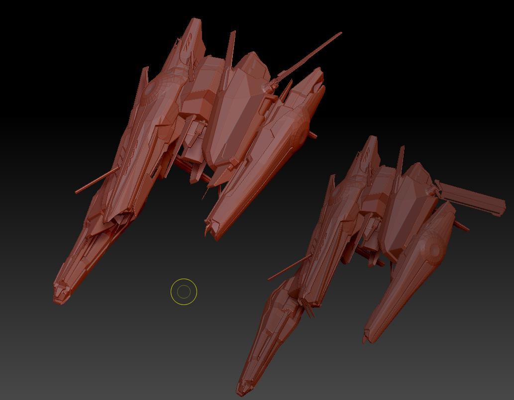 Command Destroyers (9).png Download OBJ file Draugur Kikimora  Command Destroyers • 3D print model, DesignerWinterson