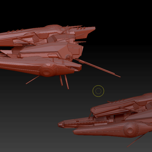 Command Destroyers (5).png Download OBJ file Draugur Kikimora  Command Destroyers • 3D print model, DesignerWinterson
