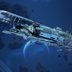 Vigilant  (1).jpg Download OBJ file Star Conflict Empire destroyer Vigilant • Design to 3D print, DesignerWinterson