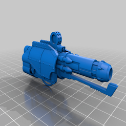 Download free STL file AT Quake Cannon Remix • 3D print template, da_sub00