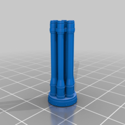 Download free STL file AT18 Warboy Proxy Arms • 3D printing design, da_sub00