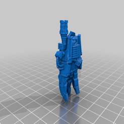 Download free STL file AT18 Warlord Powerfist • 3D printing template, da_sub00