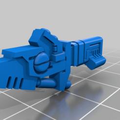 Télécharger fichier STL gratuit Remix du pistolet cyclonique de Tau Suit • Design imprimable en 3D, da_sub00