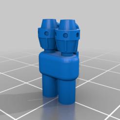 Download free 3D printing designs Dominion Crusader Gatling Flamers Remix, da_sub00