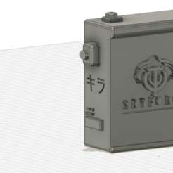 Imprimir en 3D gratis Caja de resonancia 3D, kira-yamato
