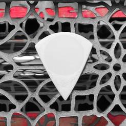 PICUDA R9 26x31 01042020 imagen.JPG Download free STL file UNU-TRI PICUDA Pua Nido (Nest Pick Guitar) • 3D printing template, carleslluisar