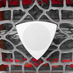 Télécharger plan imprimante 3D gatuit TRIANGLE PLA ET TPU dent de nid, carleslluisar