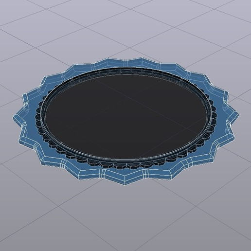 RADON 28X28 R10 3D medidas.jpg Download free STL file RADON PICK Pua Nido de Guitarra Electrica / Nesk Pick • 3D printing model, carleslluisar