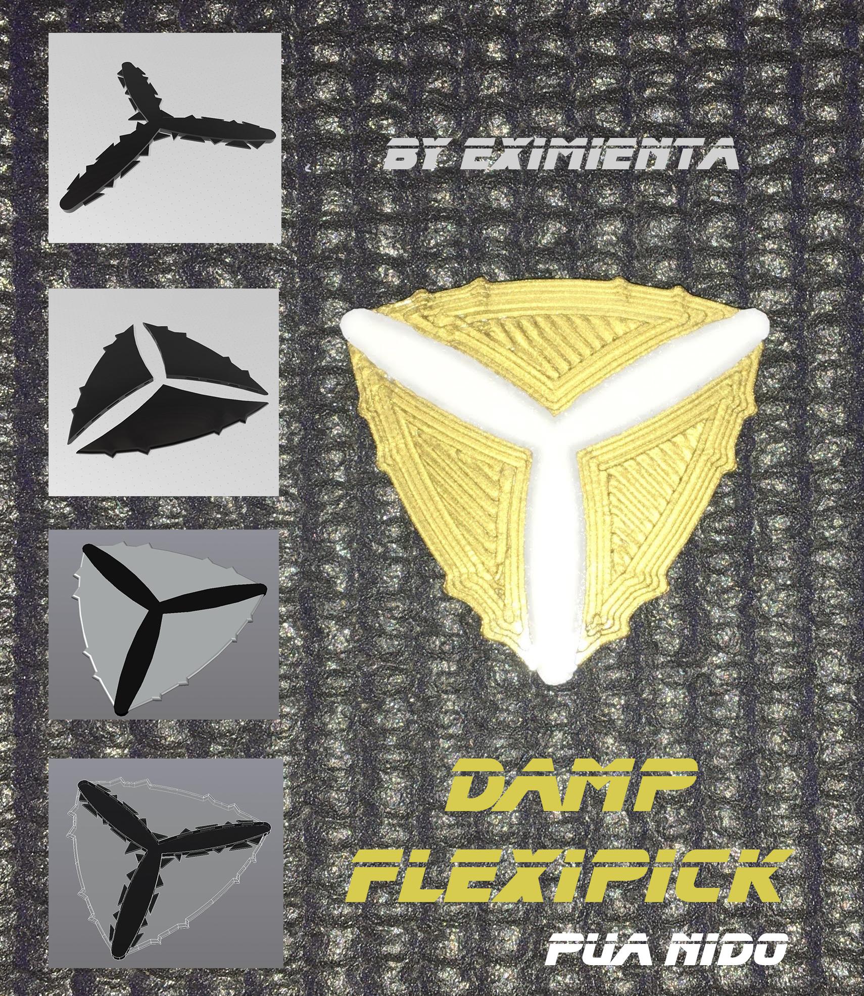 DAMP FlexiPick 09082020  pua nido by eXiMienTa imagen.jpg Download free STL file DAMP FlexiPick pua nido by eXiMienTa • Model to 3D print, carleslluisar