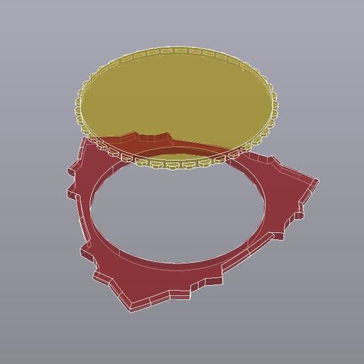 TRIANGLE-DENT Rayos-X.jpg Télécharger fichier STL gratuit ACIDE POLY-LACTIQUE PLA TRIANGLE-DENT FIBRE DE CARBONE AVEC BANDE ANTIDÉRAPANTE EN POLYURÉTHANE THERMOPLASTIQUE TPU • Objet à imprimer en 3D, carleslluisar
