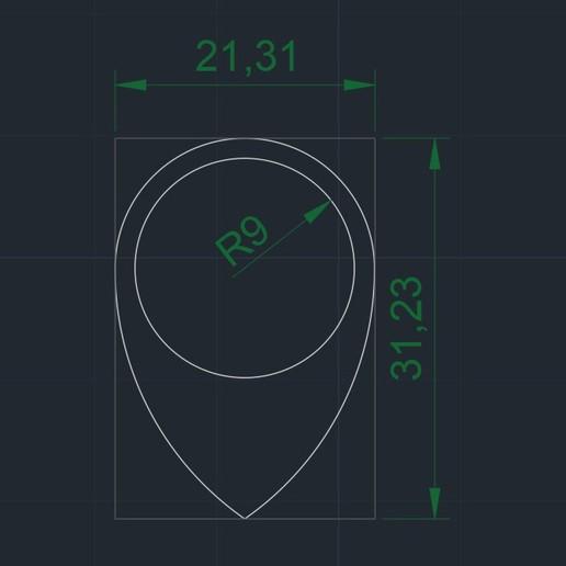 RAINDROP R9 21x31 medidas.jpg Télécharger fichier STL gratuit RAINDROP R9 21x31 PUA NIDO (GUITARE ÉLECTRIQUE) • Design pour imprimante 3D, carleslluisar