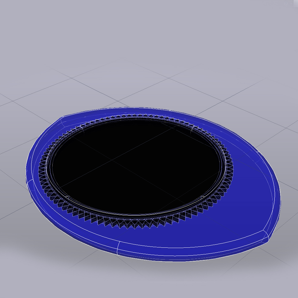 OKU Pua Nido 28919 foto pua Dent.jpg Download free STL file OKU Pua Nido 26X31MM GUITAR PICK BY EXIMIENTA PLA - TPU DUAL EXTRUDER 3D • 3D print template, carleslluisar