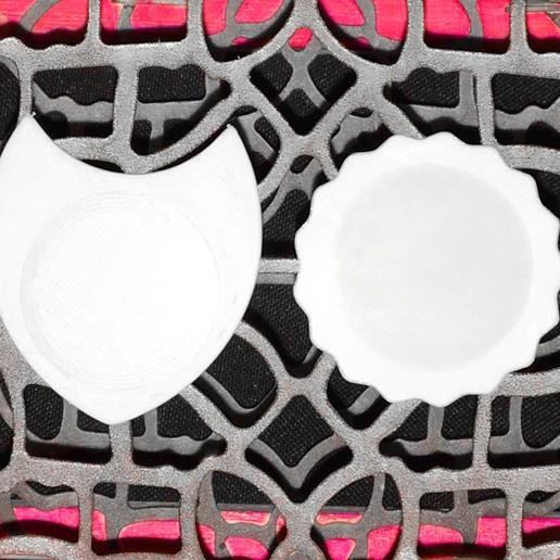 PITA DUA RADON UNU.JPG Download free STL file UNU R10'5 26X31 - PLA & TPU Electric Guitar Nest Pipe White • 3D printable design, carleslluisar