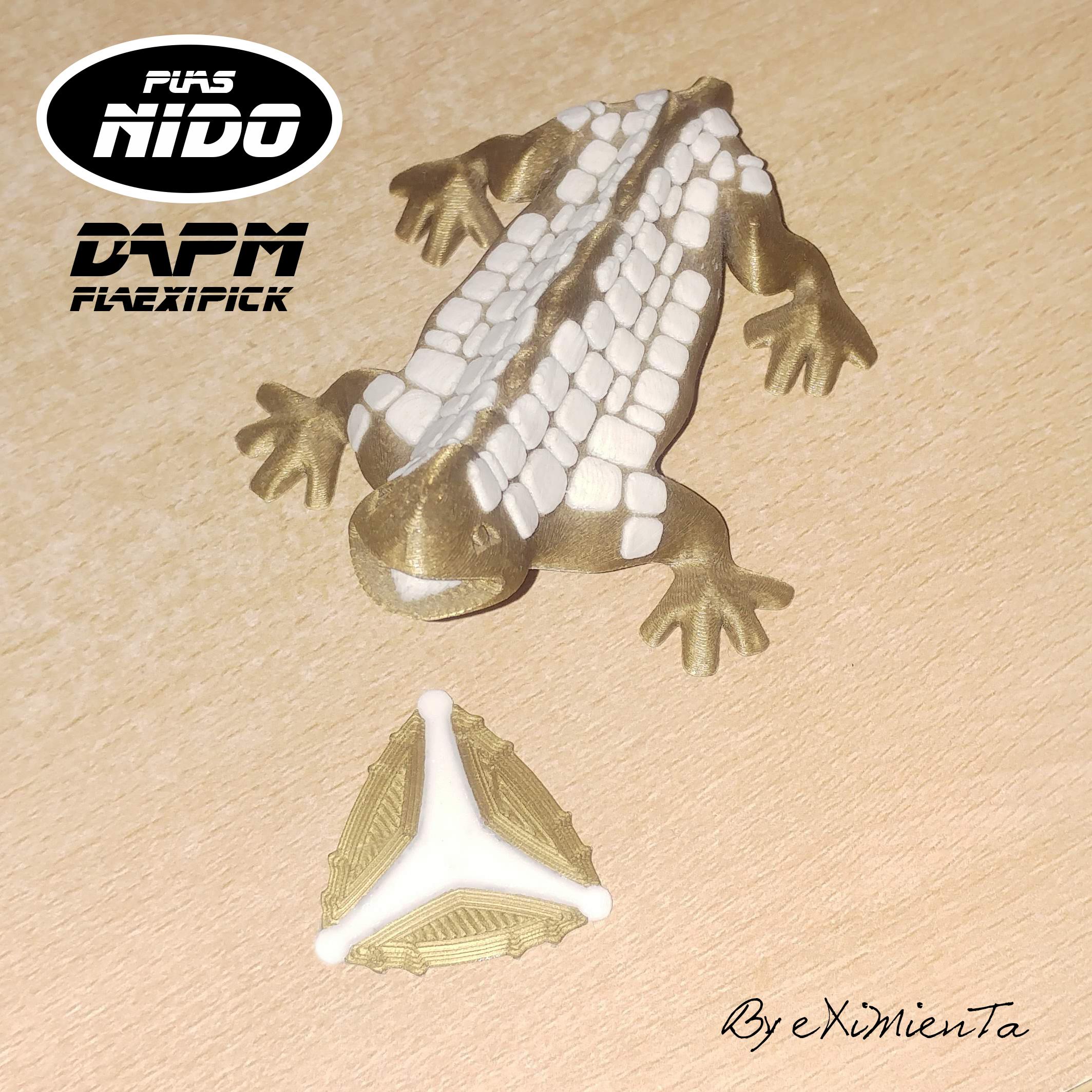 Damp Flexipick by eXiMienTa.jpg Download free STL file Damp Flexipick by eXiMienT • Object to 3D print, carleslluisar